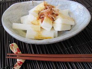 Simple Yet Elegant Japanese Mountain Yam (Nagaimo) Salad: Japanese Yam (Nagaimo) Salad
