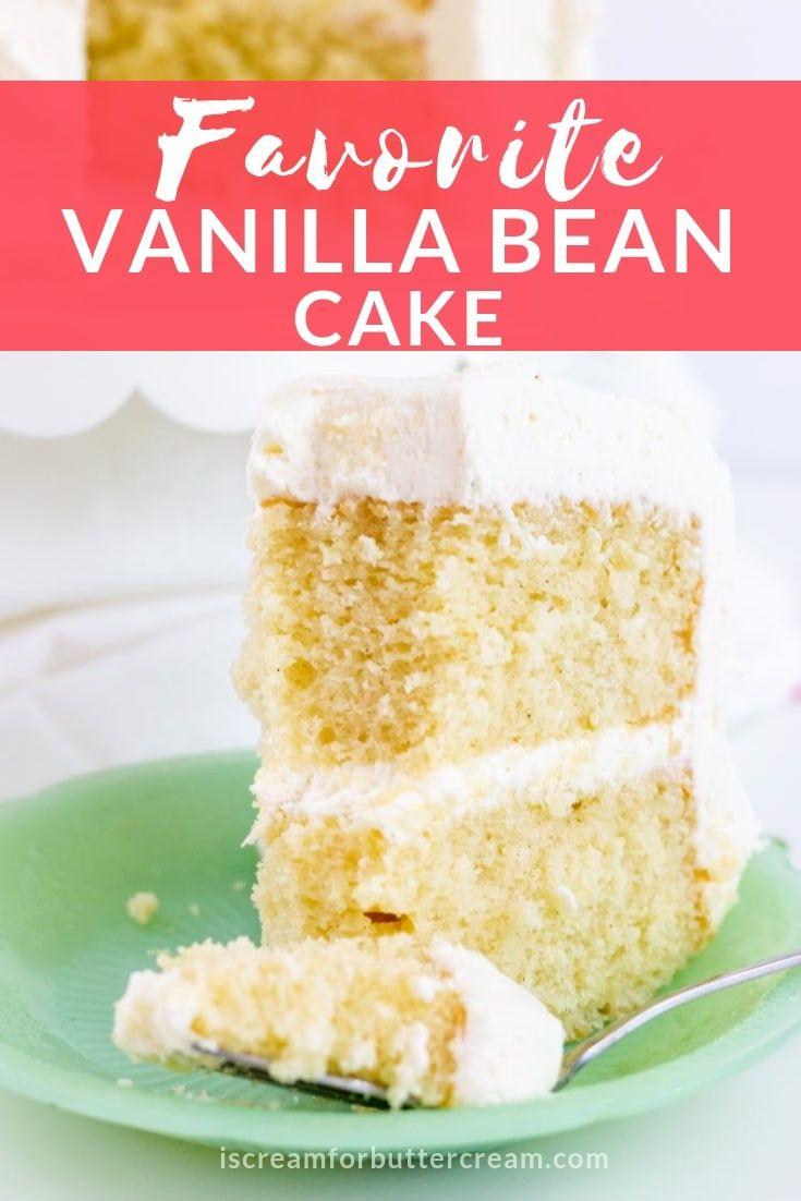Best Moist Vanilla Cake Recipe