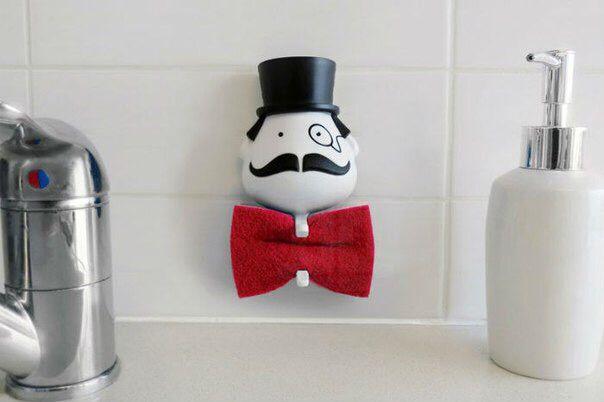 Mr. Sponge («Мистер Губка») - дизайнерский держатель губки для мытья посуды