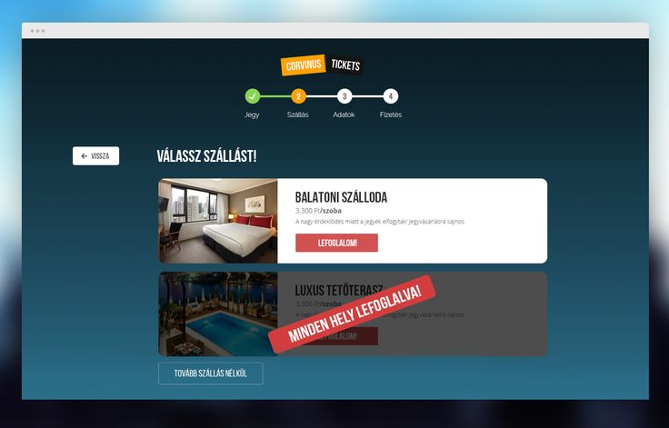 Online ticket and hotel booking platform. #webapp