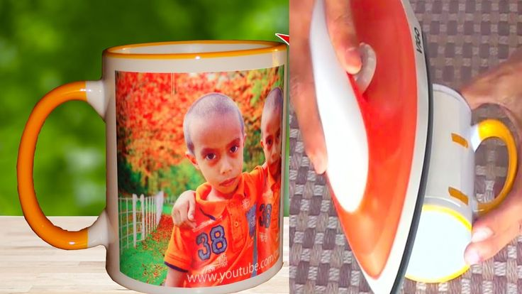How to Print Your Photo on Mug at home - Using Electric Iron