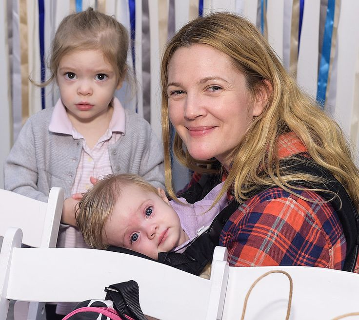 Drew Barrymore treated her daughters to a festive day.