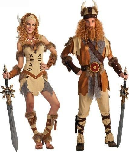 Женский костюм викингов