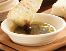 Garlic Basil Dipping Oil