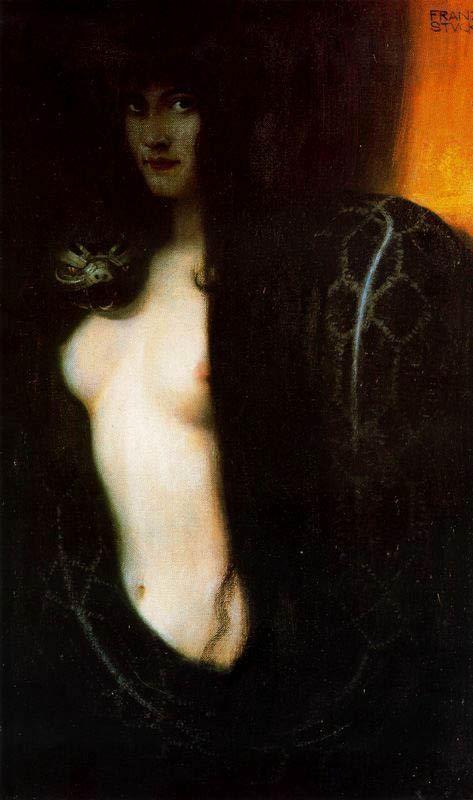 Franz von Stuck, Il peccato, 1893