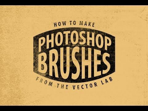 Tutorial: How to Make Photoshop Brushes