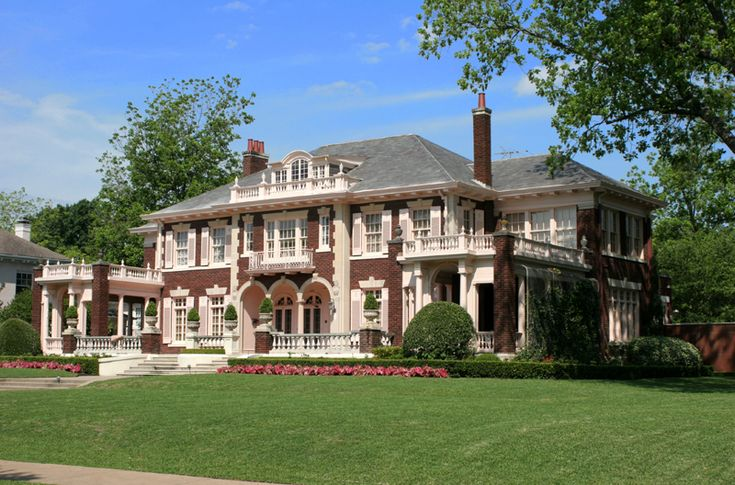 Mansion beautiful places pinterest mansions for Mansions in dallas tx
