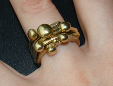 Bubble Stack RIngs  http://www.arwerner.com/