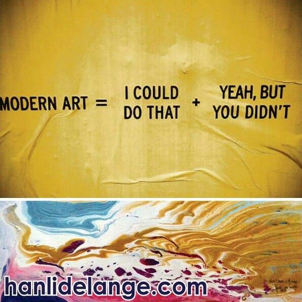 Modern Art... #art #artist #abstract #hanlidelange #abstractlandscape #nature