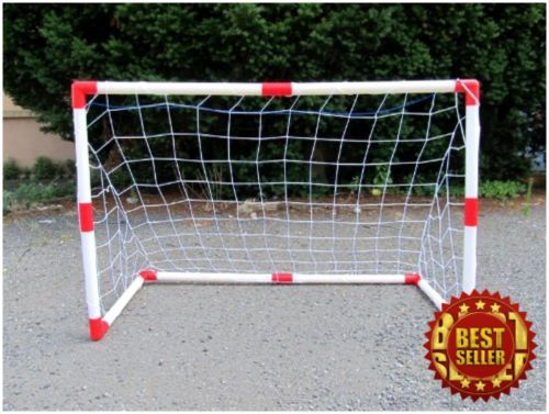 Trend NEW Set of Junior Soccer Goals for Kids x Feet Free Shipping