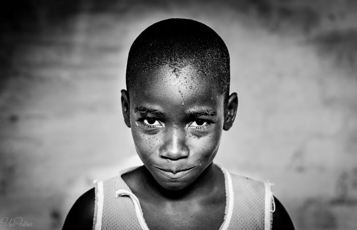 Child from San Basilio, Palenque, Colombia.