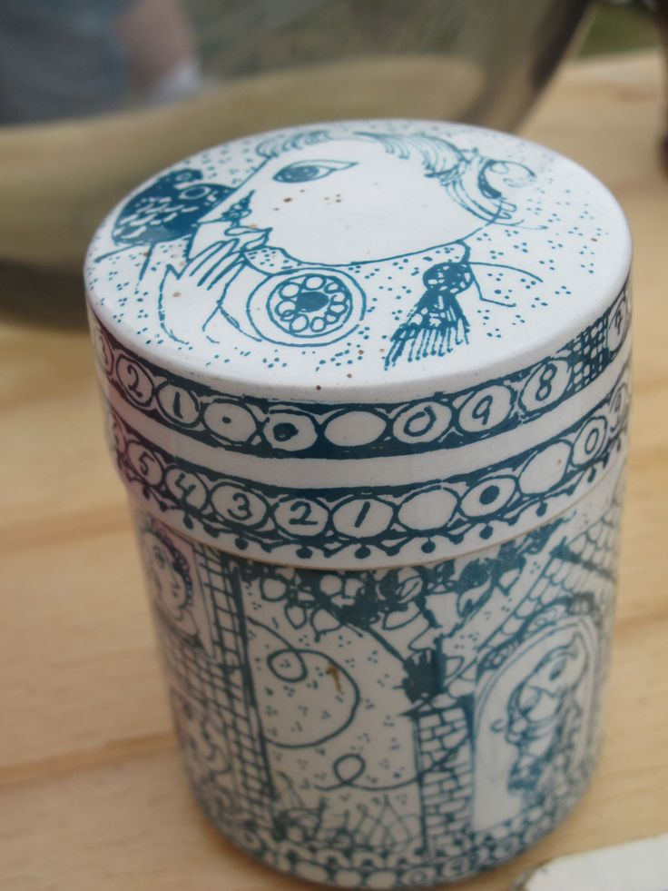Ceramic box- Vig Tuskemarked