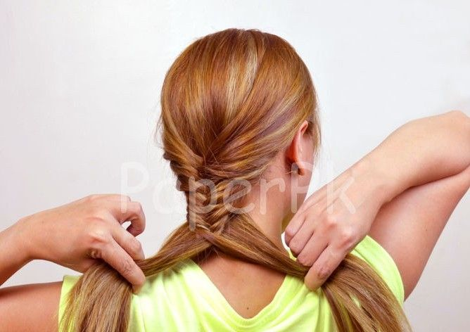 cool Fishtail Braid Tutorial #Braid #Fishtail #Tutorial