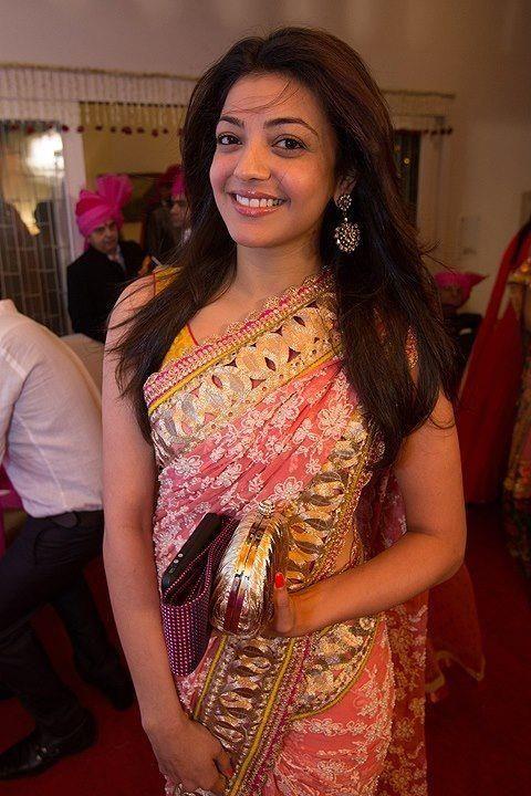 Kajal Aggarwal in Saree | Veethi