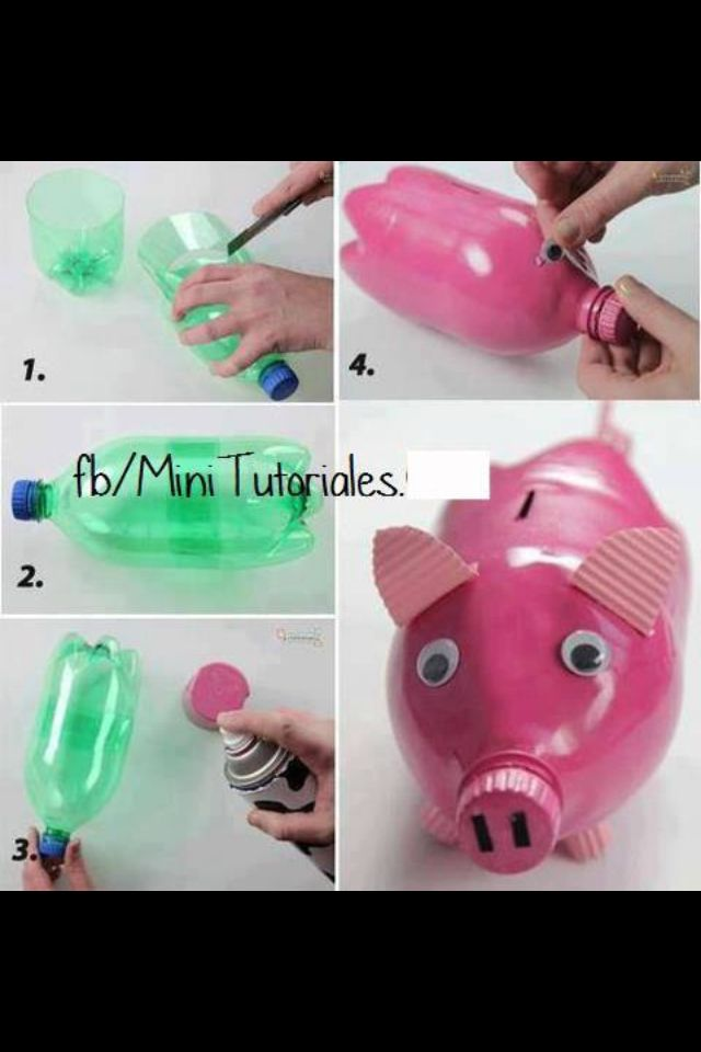 236 best images about music on pinterest diy piggy bank for How to make a simple piggy bank