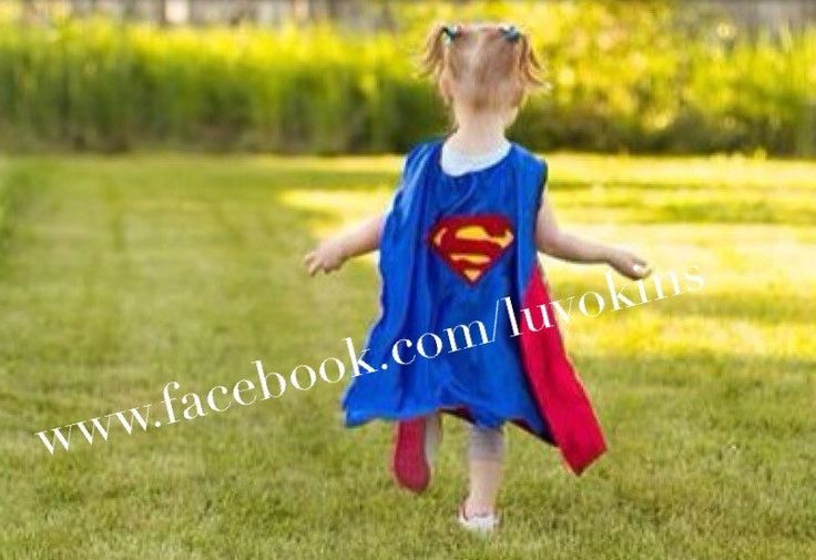Satin Super Hero Cape, Superman Cape, Superman, Dress Up, Kids Costume