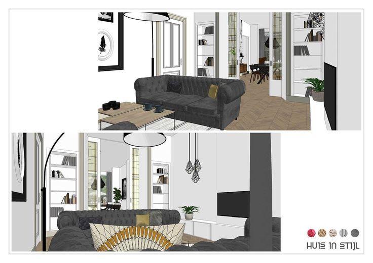 Interiordesign by Huis in Stijl