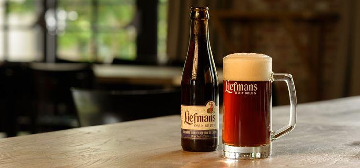 Liefmans Oud Bruin / Lichtgeroosterde mout, karamel, zuur en zoet mooi in evenwicht, met een zurig en verfrissend einde