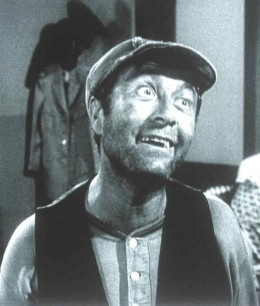 """Ernest T. Bass - Howard Morris-Howard """"Howie"""" Morris (September 4, 1919 – May 21, 2005) was an American comic actor and director who was best known for his roles in The Andy Griffith Show as Ernest T. Bass and George, the TV set repairman.wikipedia.org"""
