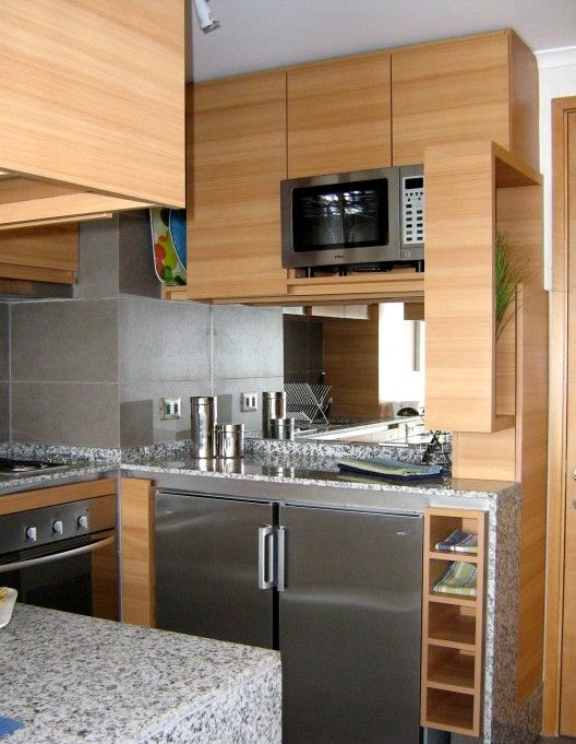 17 mejores im genes sobre espacios reducidos en pinterest for Cocinas apartamentos pequenos