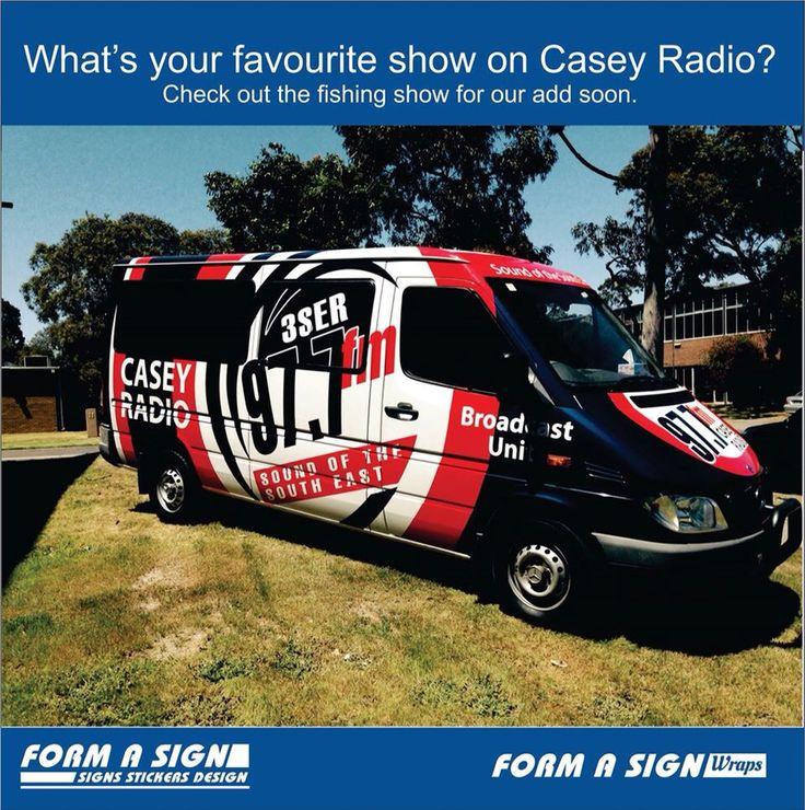 Casey radio wrap