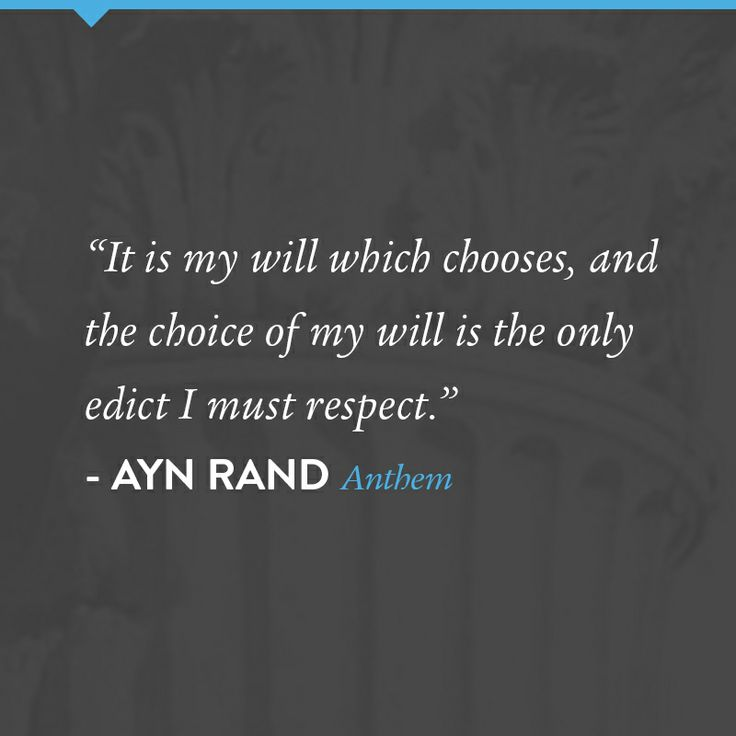 anthem amy rand important quotes explained Enjoy the best ayn rand quotes at brainyquote quotations by ayn rand, russian writer, born february 2, 1905 share with your friends.