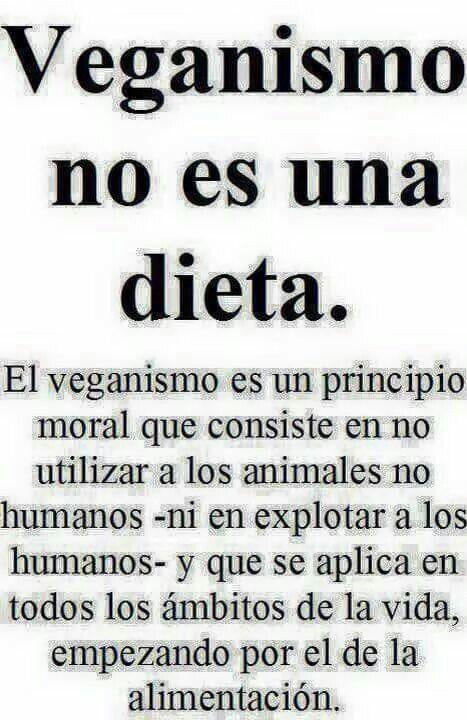 Veganismo no es una dieta
