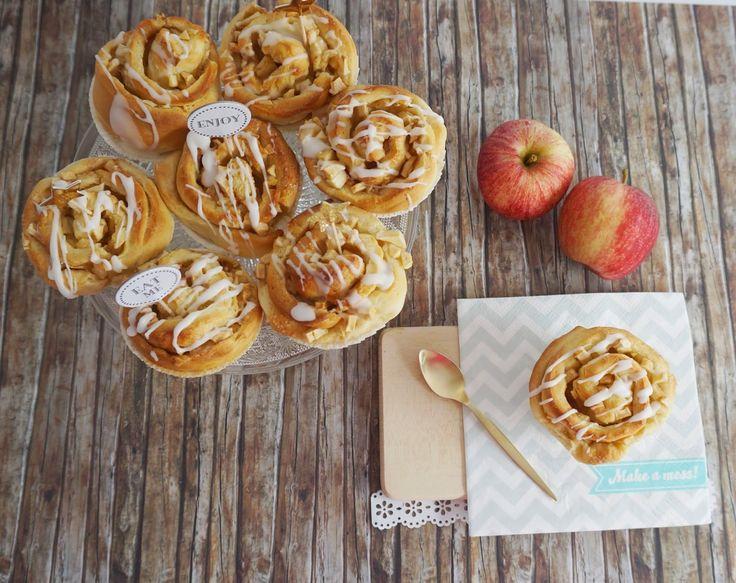 Apfel-Zimtschnecken Muffins