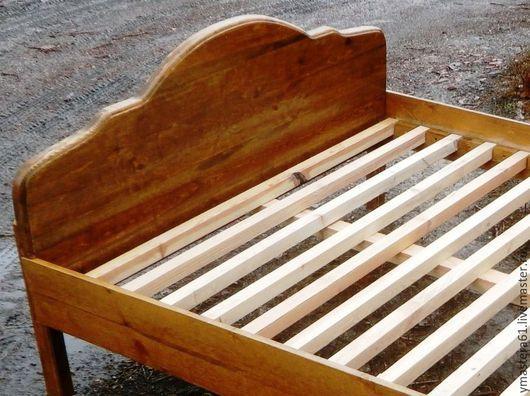 """Мебель ручной работы. Ярмарка Мастеров - ручная работа. Купить Кровать двуспальная """"Мила"""". Handmade. Кровать, кровать из массива"""