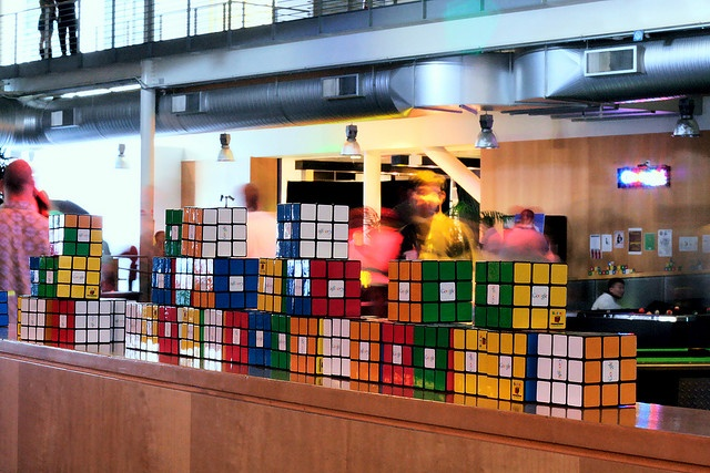 Little known Google Fact http://#1 Each morning, as they enter, anyone who works at Google has to solve a Rubiks Cube before they are allowed to continue in. This includes all staff, chiefs, cleaners and even delivery women and men from other companies. Crazy! Check out! http://reallyfastmakemon...
