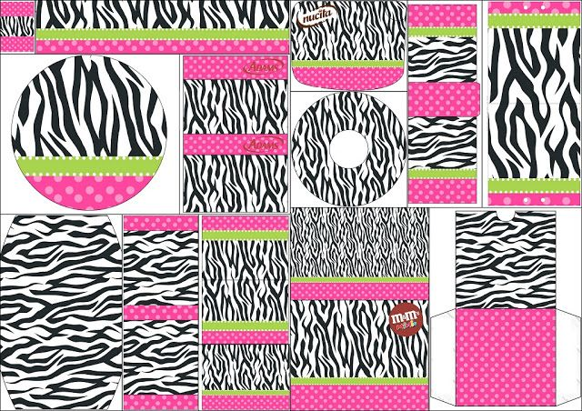 Zebra and Pink: Labels para Candy Bar Free Printable Candy Bar.