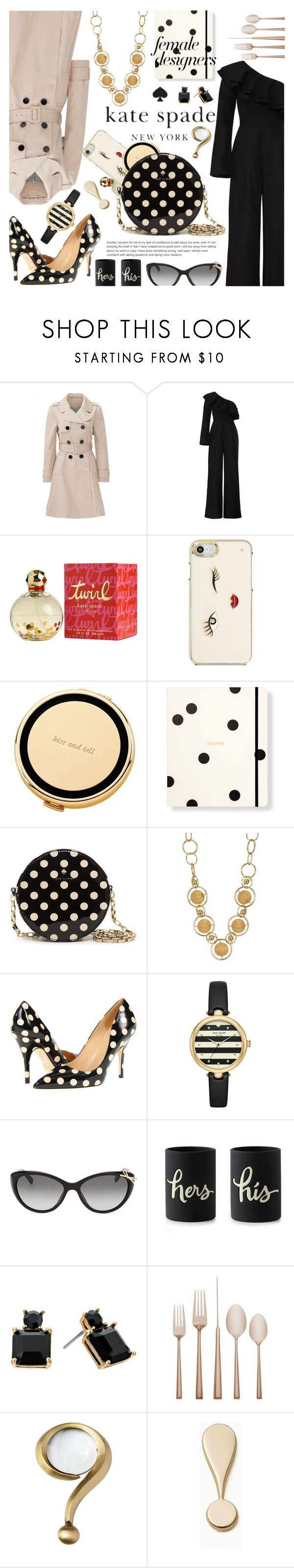 """""""Female Fashion Designers Rule! Kate Spade"""" by free-bird0818 ❤ liked on Polyvore featuring Kate Spade"""