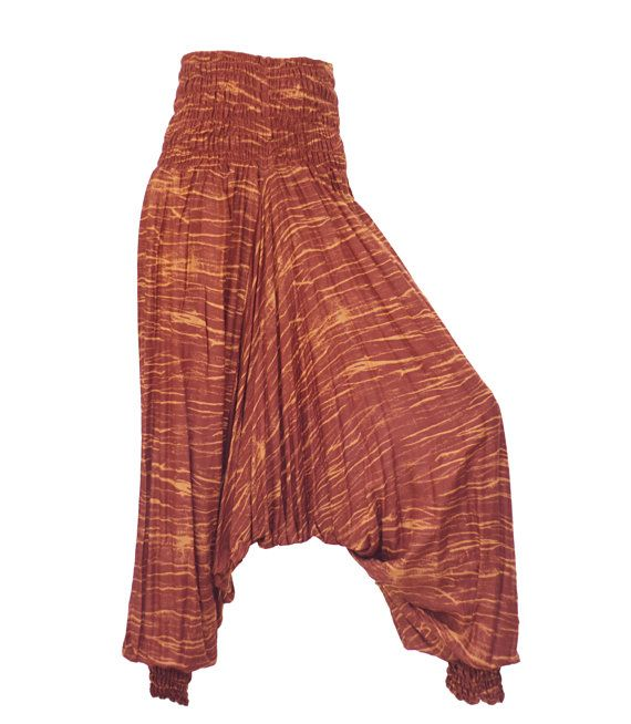 Women's Thai Harem Pants by AsianCraftShop on Etsy