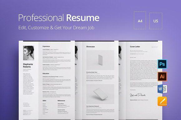 Professional Resume v.1.3 @creativework247