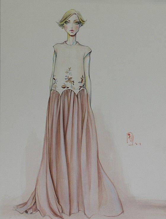 fashion illust#fashion illustration#패션일러스트#아트앤조