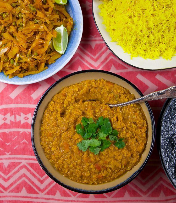 Vegetarisk Indisk gryta Mustig kikärtsgryta med fantastiska smaker. En mättande vardagsrätt som man kan lyxa till med hemmabakad chapatibröd och Raita