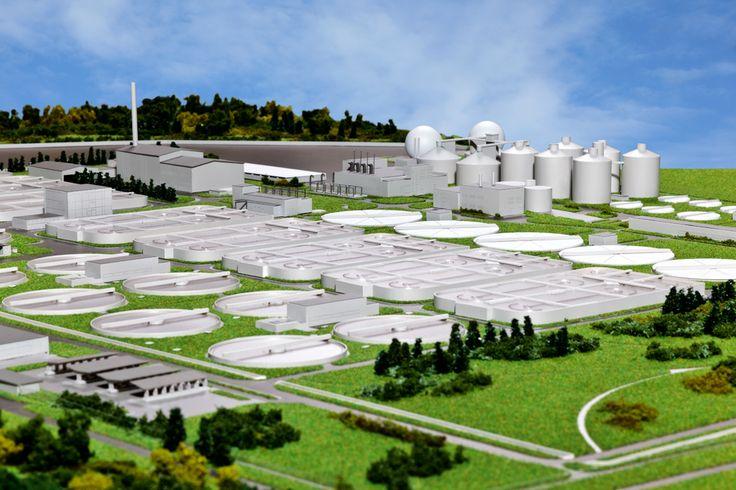 Makieta urbanistyczna największej inwestycji w Polsce finansowanej z Unii Europejskiej