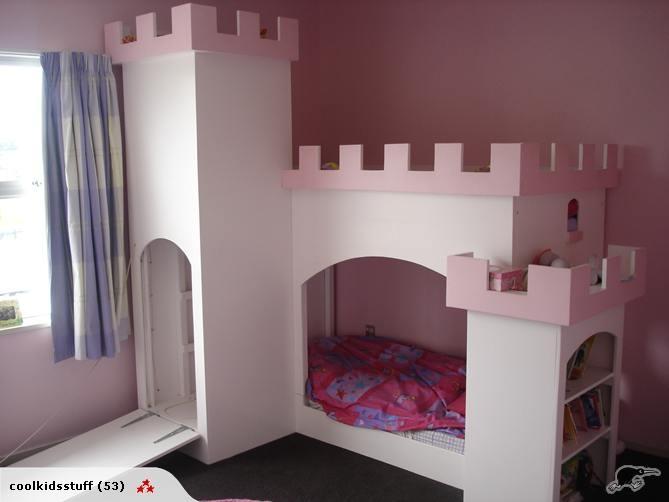 Castle Bunk Bed   Trade Me