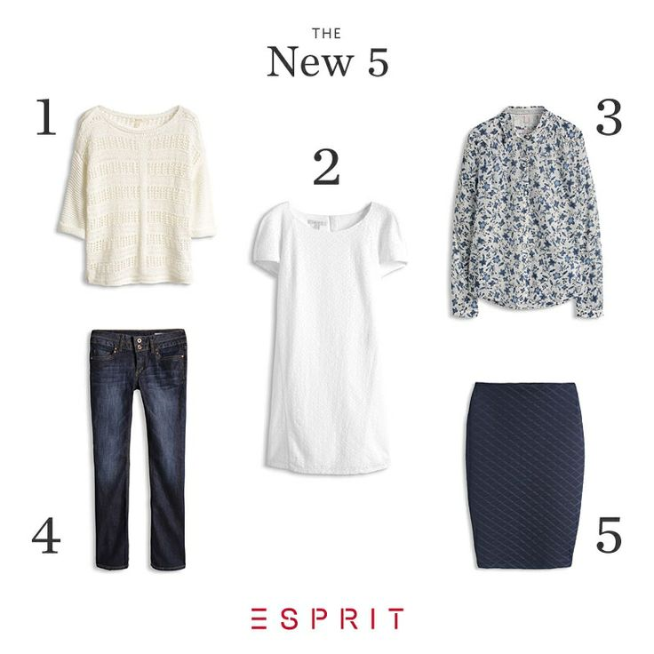 Easily find the perfect #summer #outfit. Like a #blue and #white combo that's ideal for the summer.