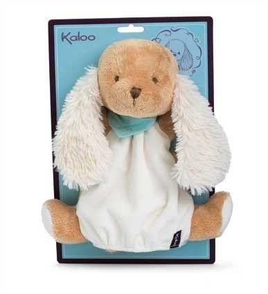 Kaloo - Les Amis - Chiot Caramel marionnette doudou - Castello   Jeux et Jouets