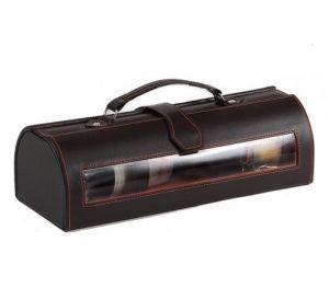 Placedubonheur.com - 15.90€ -Coffret cadeau pour bouteille de vin couleur marron