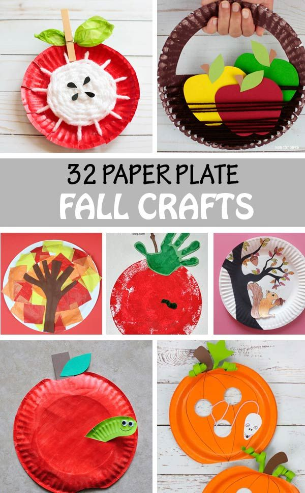 32 Paper Plate Fall Crafts For Kids Apples Trees Leaves And More Toddlers