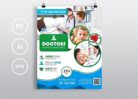 25 best FLYER HEALTHCARE images on Pinterest Flyer design, Print