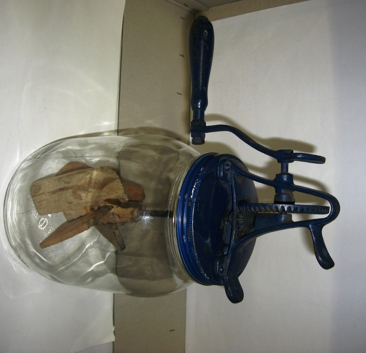 Old Butterchurn. We Had One Of These When I Was A Kid. Never Used
