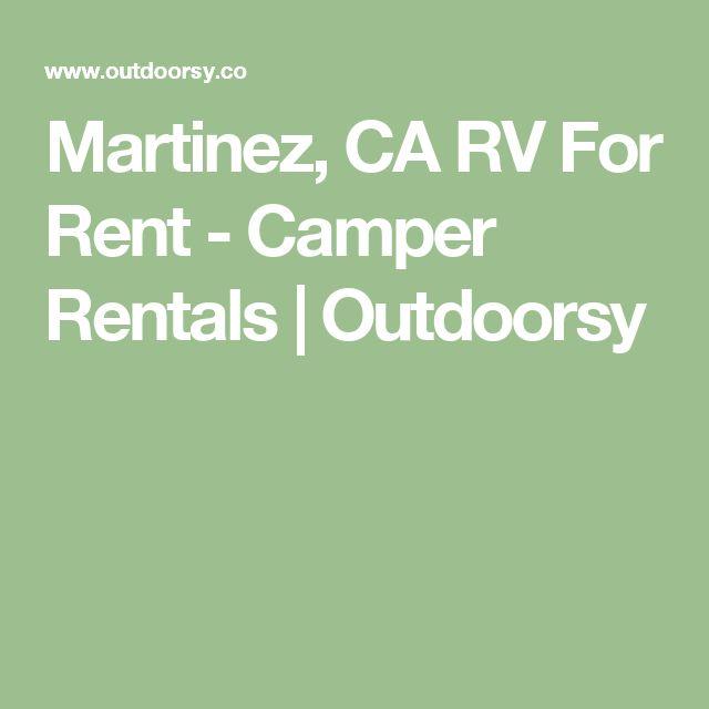 Martinez, CA RV For Rent - Camper Rentals   Outdoorsy