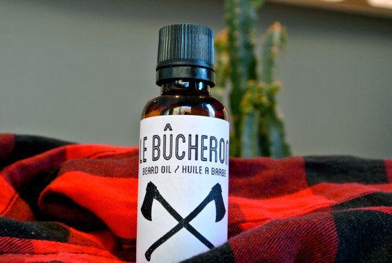 Huile a Barbe Le Bucheron par LeBucheron sur Etsy