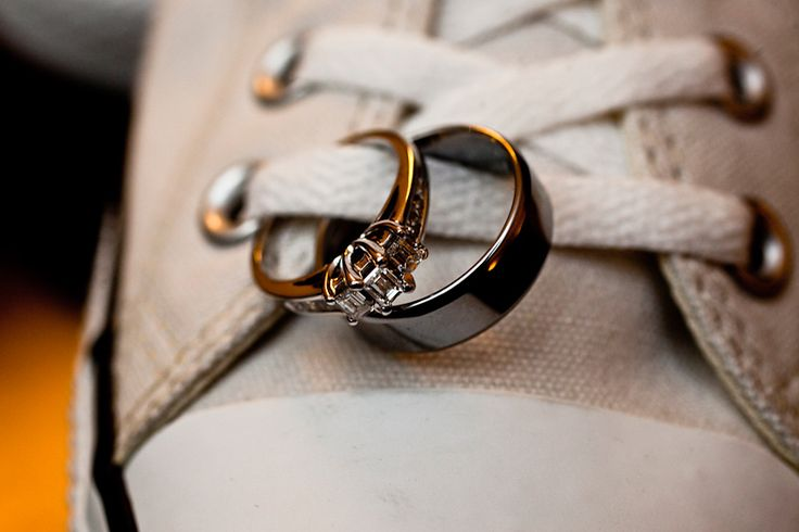 Wedding Photographer, Minneapolis St. Paul - James Ramsay Photography. Unique idea for ring shot (especially if the bride or groom is a Converse fan))