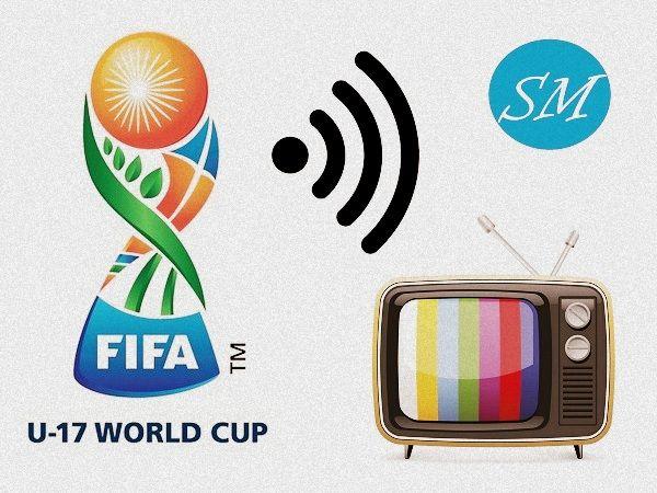 FIFA U17 world cup 2017 tv channels, broadcast info.. #FIFA #Football #U17