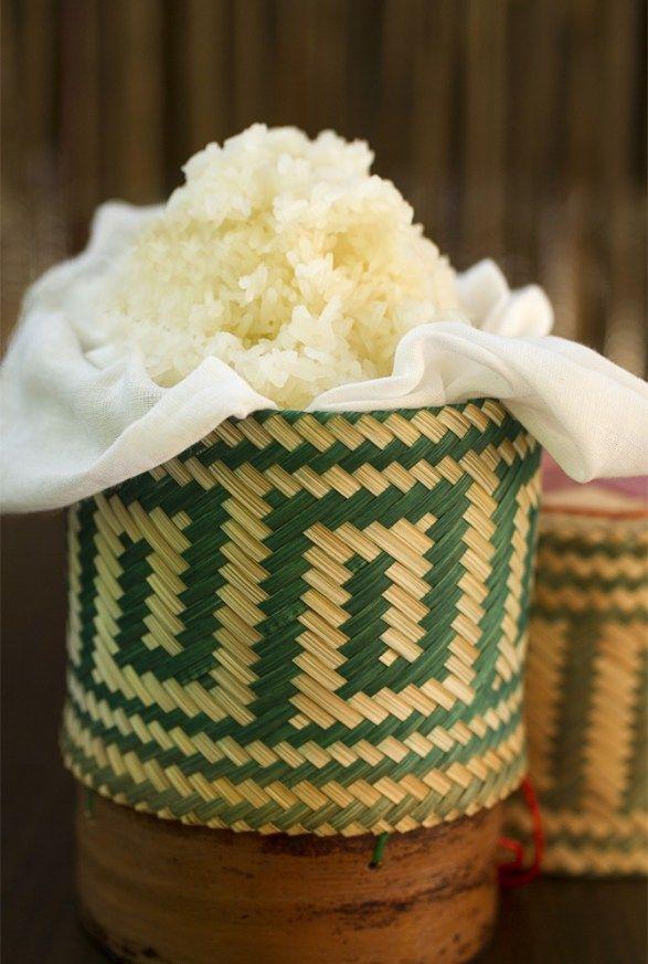 Arroz Glutinoso, arroz tailandés