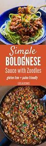This easy Bolognese Saucerecipe uses simple ingredients and is perfect to quickly cook up on a weeknight. Pair the sauce with fresh zoodles (zucchini noodles) for a family comfort food meal that is gluten...